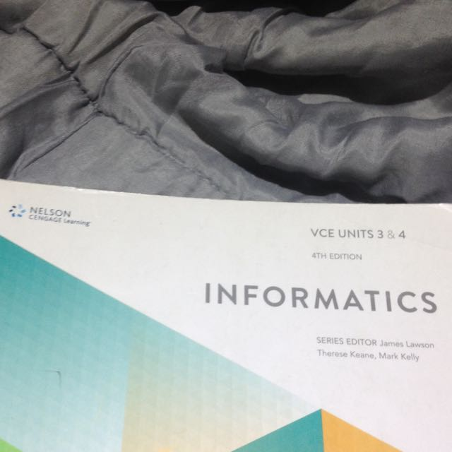 VCE U3&4 Informatics 4th Edition