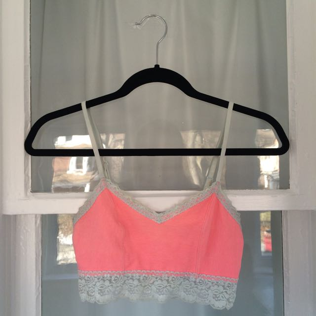 VS Pink Bralette With Lace