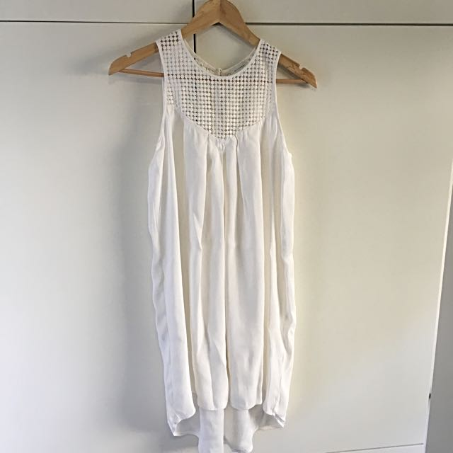 Witchery Size 8 Dress - Ivory