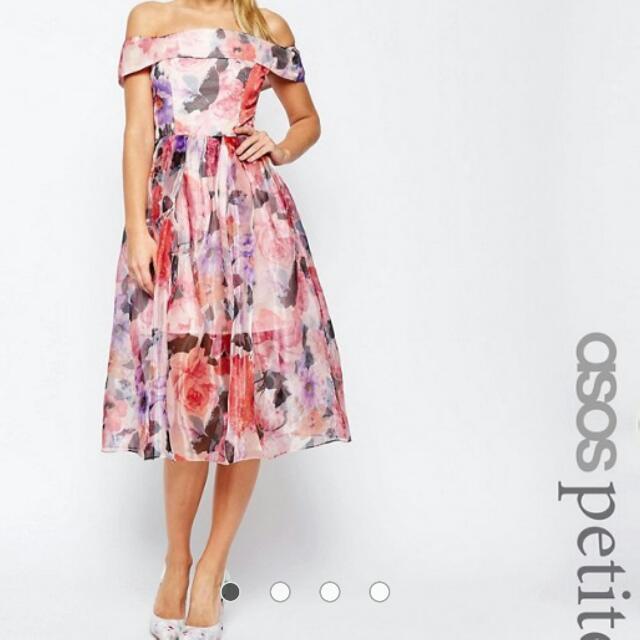 WORN ONCE! Size 8 Asos Petite Dress +50% off Retail