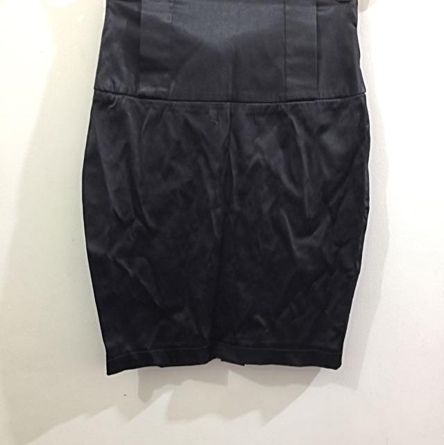 XS Silk Pencil Skirt