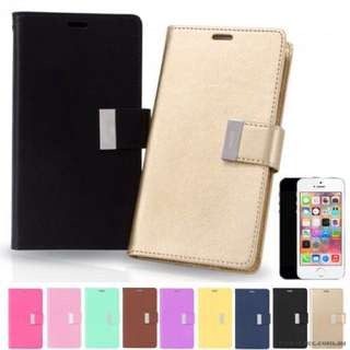 Rich Diary Wallet Case