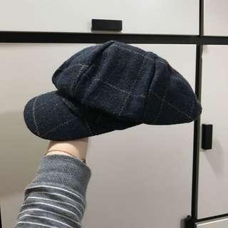 畫家帽 毛帽 小偷帽