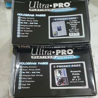(READY STOCK) CARD PAGE  (ULTRA PRO)