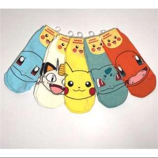 韓國帶回神奇寶貝寶可夢襪子