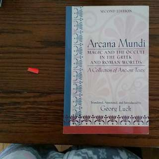 Magic and the Occult in the Greek and Romance Worlds