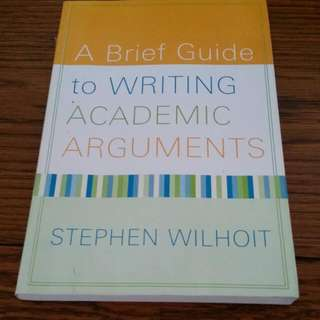 Writing Academic Arguments