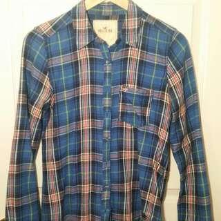 Hollister Flannel Shirt (Size M)