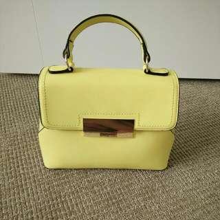 ALDO 黃色小提包
