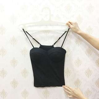 Black Bustier With Cup