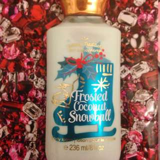 LIMITED EDITION CHRISTMAS BBW BODY LOTION
