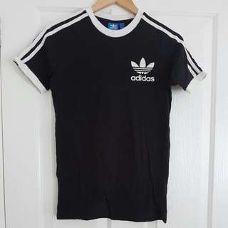 Adidas Trefoil Originals Tee Xs Black