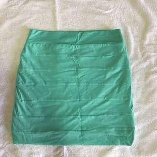 Kookai Pastel Green Skirt