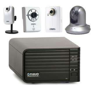 【二手】NUUO HD 監視器主機 + 高清網路監視器 NVR 監控主機 監視器材 監視系統 網路監看