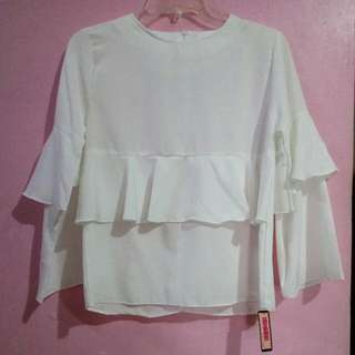 (New) Blouse Broken White