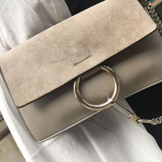 Authentic Chloe Small Faye Shoulder Bag