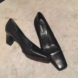 AUTHENTIC Prada Heels Size 37 EU Or 7 US
