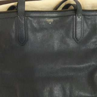Fossil Shopper Bag Navy