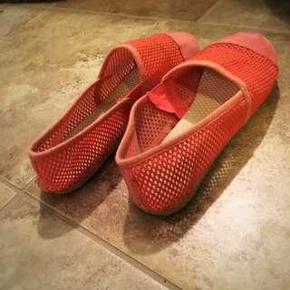 Pink Size 6 Comfy Slip On Shoes
