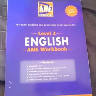 NCEA Level 2 English Book