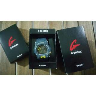 G Shock Authentic Nego