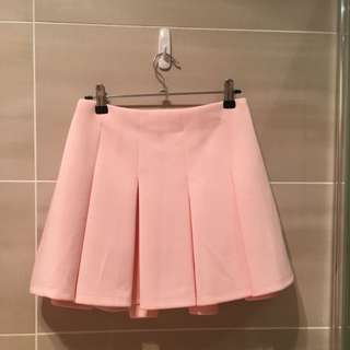 Pink High Waisted Skirt