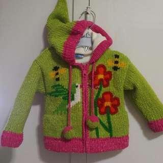Fleece Lined wool Jacket
