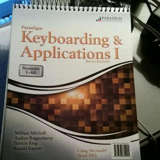 Paradigm Keyboarding & Applications I 6th Edition