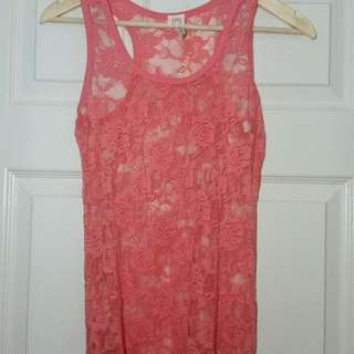 Mendocino Lace Tank (Size M)
