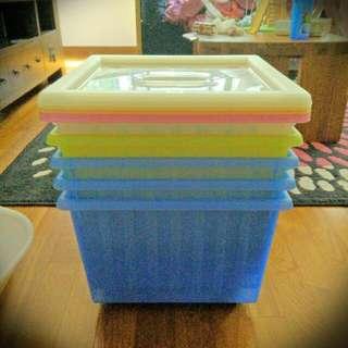 Ikea VESSLA storage Boxes