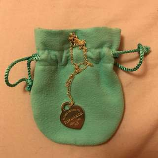 RESERVED Tiffany Necklace