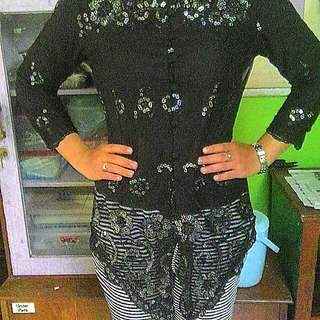 reprice,,kebaya brukat,,fit M to L