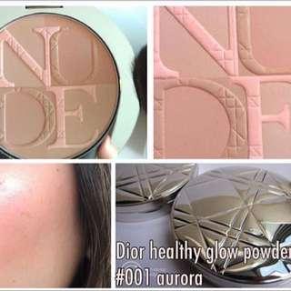 Dior Heathy Glow Powder #001 Aurora