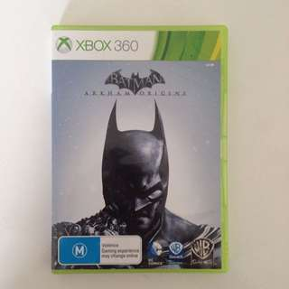 Batman Arkham Origins Xbox 360