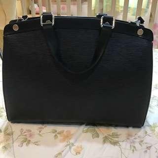 LV Bag Brea Gm Epi Noir