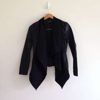 Bardot Leather And Material Jacket