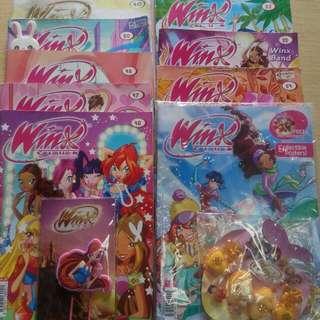 Total 9 Winxclub Magazines