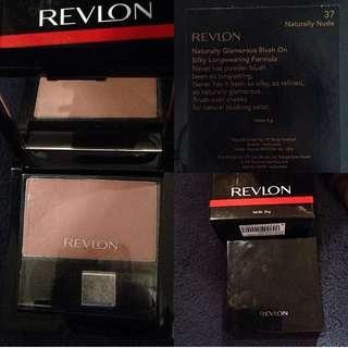Revlon naturally glamorous blush on
