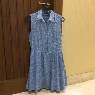 Denim Dress Ezra Size L