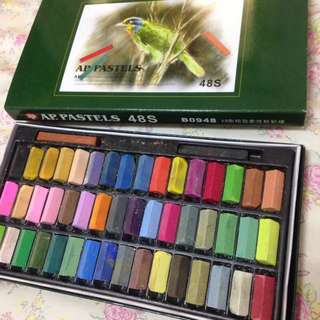 粉彩筆48色含運