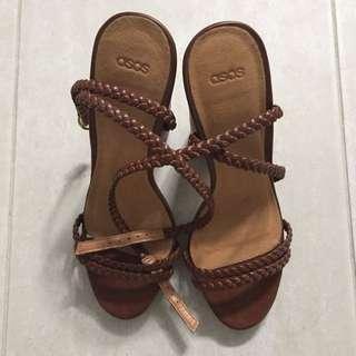 Heeled sandals (ASOS)