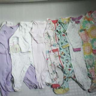 Take All 10 Pcs Baby Clothes