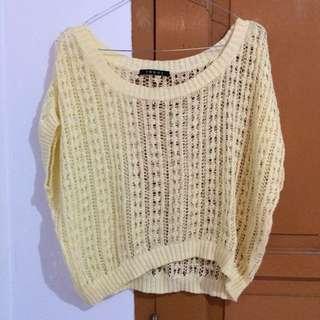 Crop Knitted Cream merk INGNI