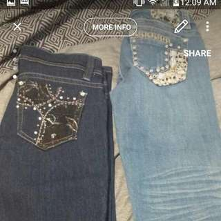 Both Size 5 One Jeans One Capris