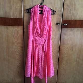 BN Retro Polka Dress from Littlematchgirl