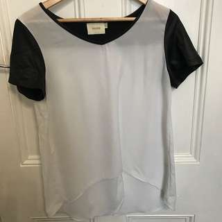 Goldie Sheer Top