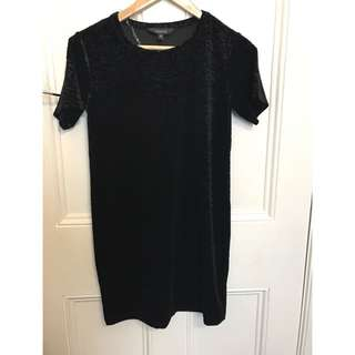Glassons Velvet Dress