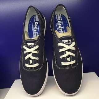 Keds 藍色 經典款 帆布鞋