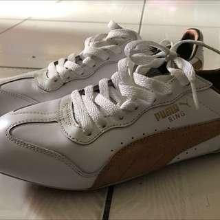 Puma白金鞋