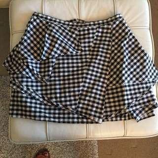 Kinki Gerlinki Checkered Skirt Size 10